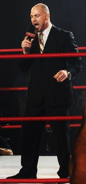 Slammiversary (2009) - Kurt Angle won his third TNA World Heavyweight Championship in the King of the Mountain match.