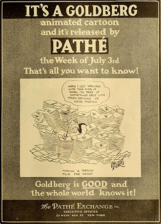 Rube Goldberg - Advertisement (1916)