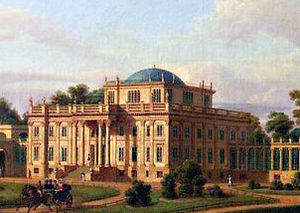 Ivan Starov - One of Starov's Neoclassical châteaux in White Russia