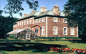 Government House (Newfoundland and Labrador) - Rear façade of Government House