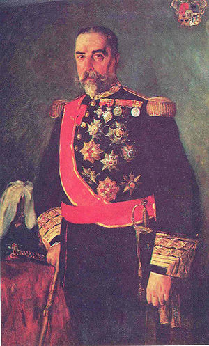 Ramón Blanco, 1st Marquis of Peña Plata - Portrait of Governor-General of the Philippines Ramón Blanco y Erenas by Filipino painter Juan Luna.
