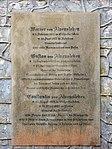 Grabanlage Gebrüder von Alvensleben, Inschrift (Ballenstedt).jpg