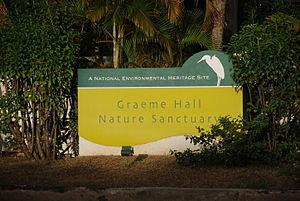 Graeme Hall Nature Sanctuary - Graeme Hall Sanctuary - Entrance