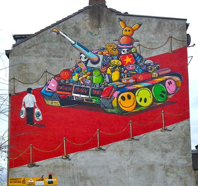 Datei:Graffiti Köln Ehrenfeld Himmlischer Frieden.jpg