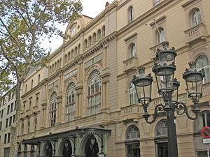 Català: El Gran Teatre del Liceu, a la Rambla ...