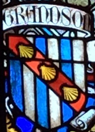 Otto de Grandson - Grandson Coat of Arms.