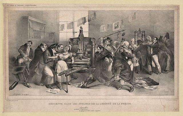 [RP] Imprimerie Louis le Grand 640px-Grandville_-_Descente_dans_les_ateliers_de_la_libert%C3%A9_de_la_presse