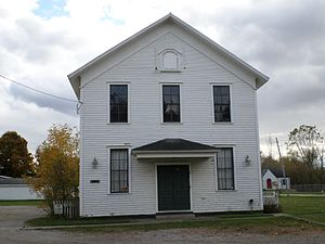 National Register of Historic Places listings in Genesee County, Michigan - Image: Grange Hall Atlas