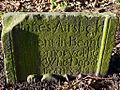 Gravestone, St Michaels Church, Ilderton (geograph 3237349).jpg