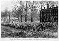 Gray's Inn Garden, 'The London Welsh', at physical drill Wellcome L0002697.jpg