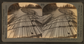 Great chained log rafts containing millions of feet of lumber, on the Columbia River, Wash., U.S.A, from Robert N. Dennis collection of stereoscopic views.png
