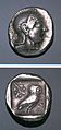Greek Silver Tetradrachm of Athens (Attica).jpg