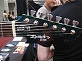 Green Queen by J. Backlund Design - headstock, 2010 Summer NAMM.jpg