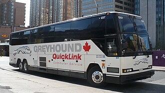 Greyhound Canada - Image: Greyhound 1257 Quicklink