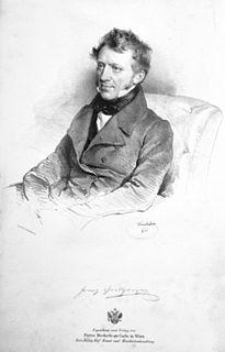 Franz Grillparzer Austrian dramatist and poet