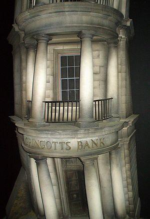 Fictional universe of Harry Potter - Gringotts Bank, Diagon Alley