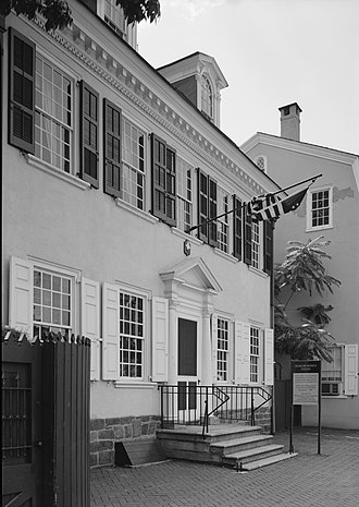 Germantown White House - Image: Gtown W House 136627pu