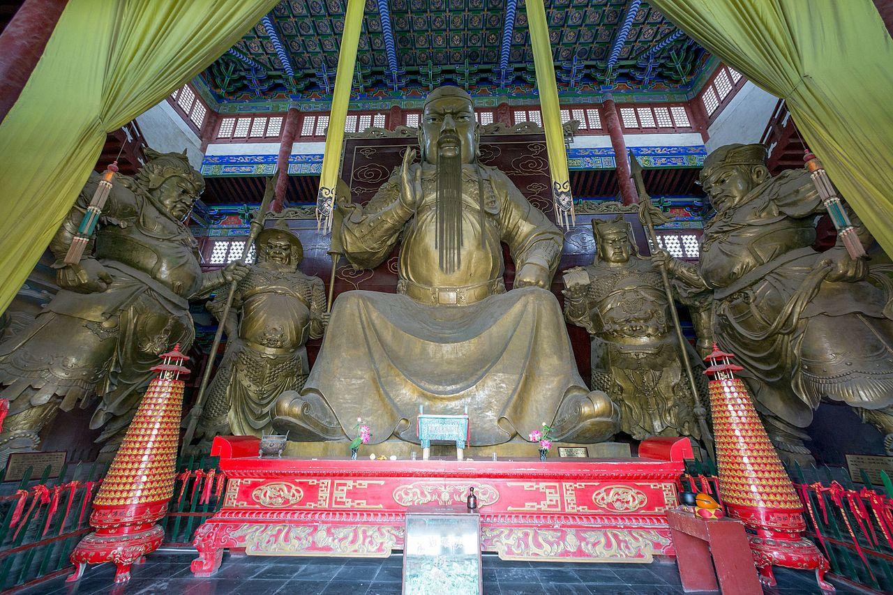 File:Guan Yu giant statue 2016 Chunqiu Lou (Xuchang).jpg ...