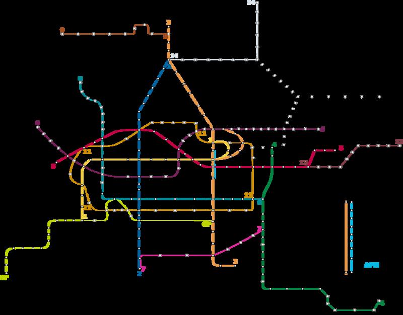 广州13号线地铁线路图 广州13号线 广州地铁线路图图片