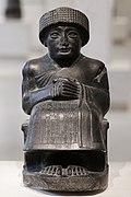 Estatuilla de Gudea de Lagash, hacia 2120a.C., principe de Lagash