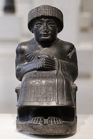 History of Sumer - Gudea of Lagash (Louvre)