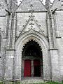 Guern (56) Basilique Notre-Dame de Quelven Façade sud 03.JPG