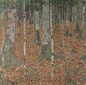 ''Buchenwald/ Birkenwald'', 1903
