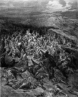 Gustave Doré - Two Hundred Knights Attack Twenty Thousand Saracens.jpg
