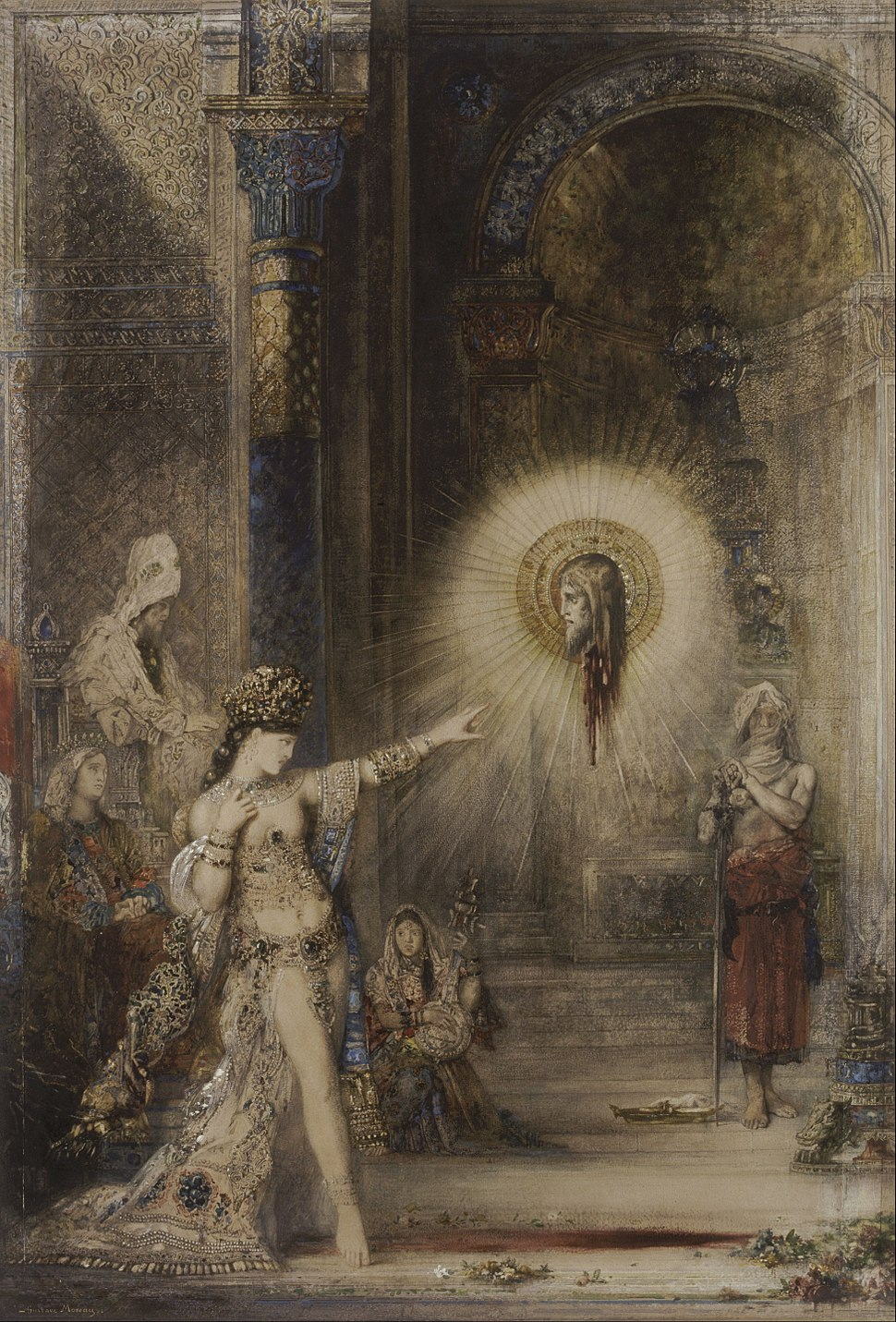 Gustave Moreau - The Apparition - Google Art Project