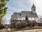 Guttaring Waitschach Pfarrkirche Unsere Liebe Frau und Karner N-Ansicht 21032017 6830.jpg