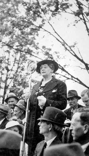 Feminism in Canada - Helena Gutteridge fought for women's suffrage in BC