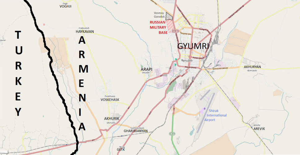 Gyumri and its vicinity