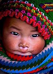 Bébé fille Hmong (Viêt Nam)