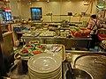 HK Cheung Sha Wan 元州商場 Un Chau Shopping Centre 新金翡翠海鮮城 New Golden Jade Seafood City Restaurant kitchen Nov-2013.JPG