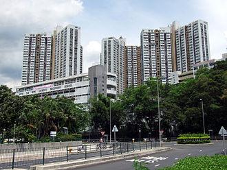 Public housing estates in Tai Wai - Fung Shing Court