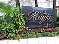 HK ML 半山區 Mid-levels 梅道 May Road February 2020 SS2 The Mayfair name sign.jpg