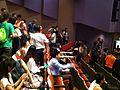 HK Sai Wan Ho Civic Centre interior Song theatre visitors 30-July-2013.JPG
