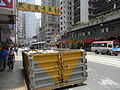 HK Sai Ying Pun Des Voeux Road West sidewalk parking 01.JPG