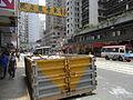 HK Sai Ying Pun Des Voeux Road West sidewalk parking 01.JPG