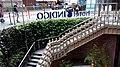 HK Wan Chai 太原街 Tai Yuen Street Queen's Road East INDIGO Hotel outside stairs Aug-2014 RedMi.jpg