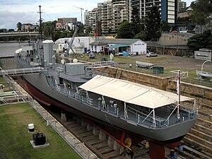 HMAS Diamantina (K377) - The former HMAS Diamantina (K377) in 2008