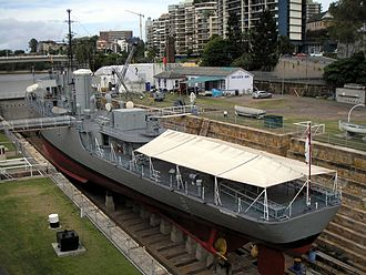 HMAS Diamantina (K377) - The former HMAS Diamantina (K377) in 2008