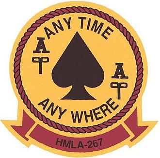 HMLA-267 - Image: HMLA267 Logo Current