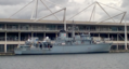 HMS Cattistock at Royal Victoria Dock-ExCel.png