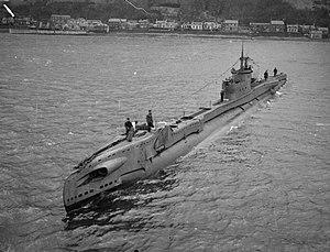 HMS Tarpon (N17) - Image: HMS Tudor
