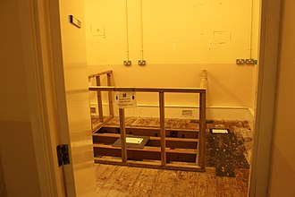 HM Prison Shepton Mallet - The execution room, 2018