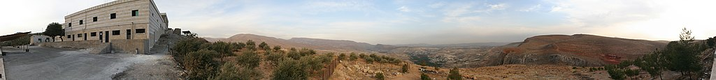 Panoramic view from the grave of prophet Habil