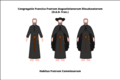 Habit of the discalced Augustinian lay friars of the congregation of France.png