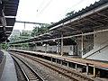 Hagiyama Station Platform.jpg
