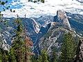 Half Dome & Yosemite Valley (Sierra Nevada Mountains, California, USA) 3.jpg